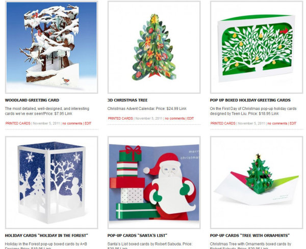 Christmas Cards 3D