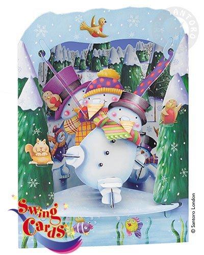 Snowman 3D card