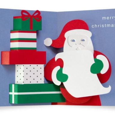 "Pop-up Cards ""Santa's List"""