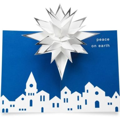 "Holiday Pop-up Cards ""Village Star"""