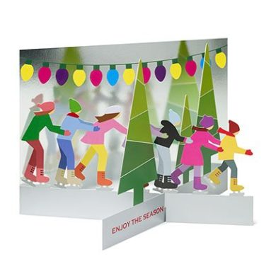 Skating Party Holiday Cards