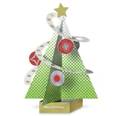 Festive Holiday Tree Cards