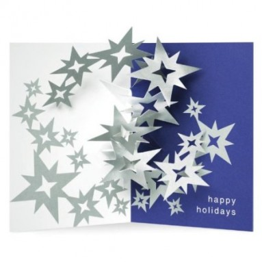 Swirl PoP-Up Holiday Cards